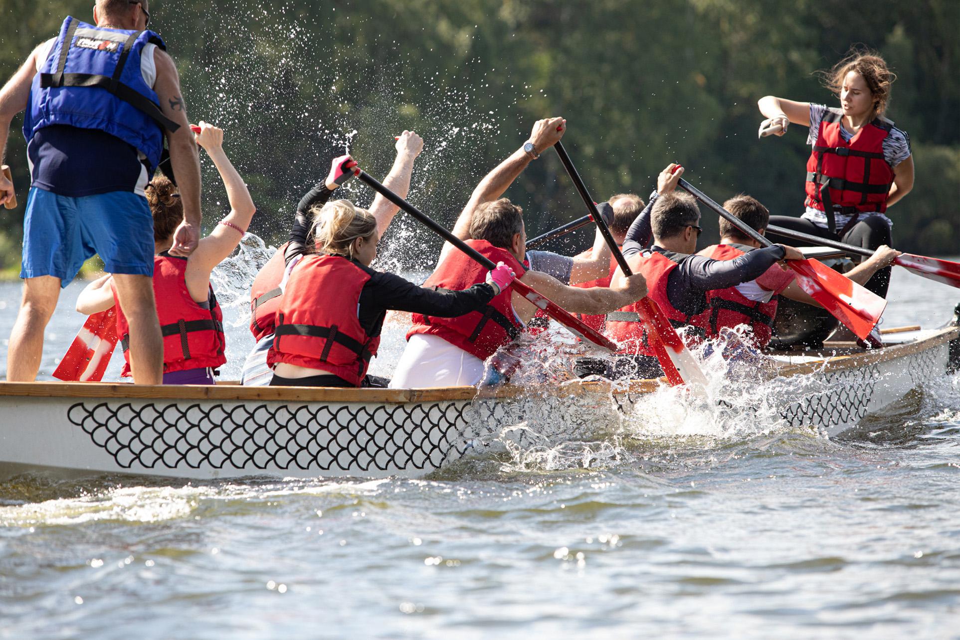 водные гонки