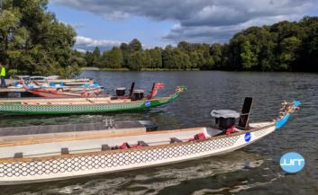 Необычное корпоративное мероприятие на лодках дракон